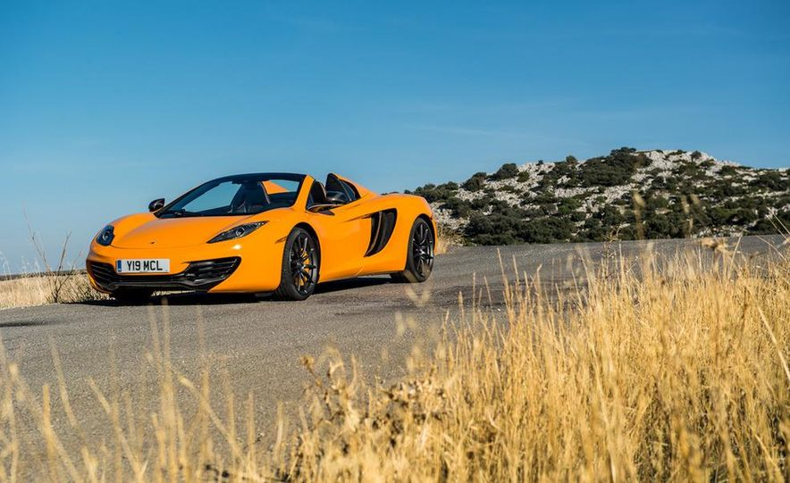 2013 McLaren MP4-12C Spider - Slide 114
