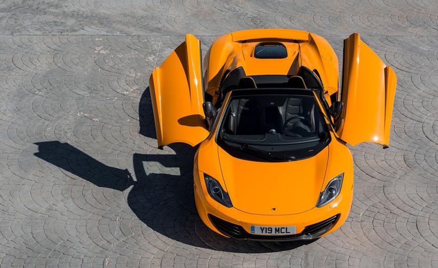 2013 McLaren MP4-12C Spider - Slide 116