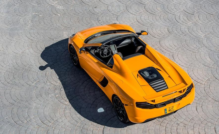 2013 McLaren MP4-12C Spider - Slide 120