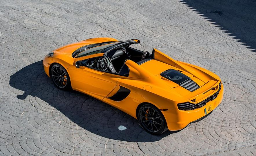 2013 McLaren MP4-12C Spider - Slide 122