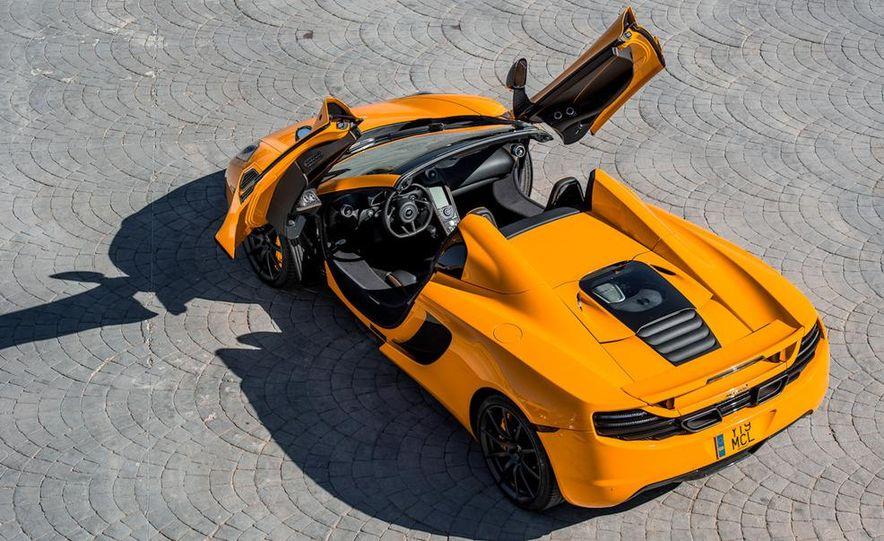 2013 McLaren MP4-12C Spider - Slide 123