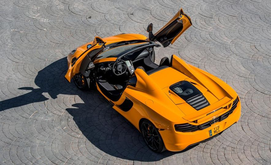 2013 McLaren MP4-12C Spider - Slide 124