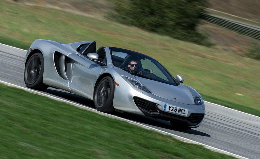 2013 McLaren MP4-12C Spider - Slide 140