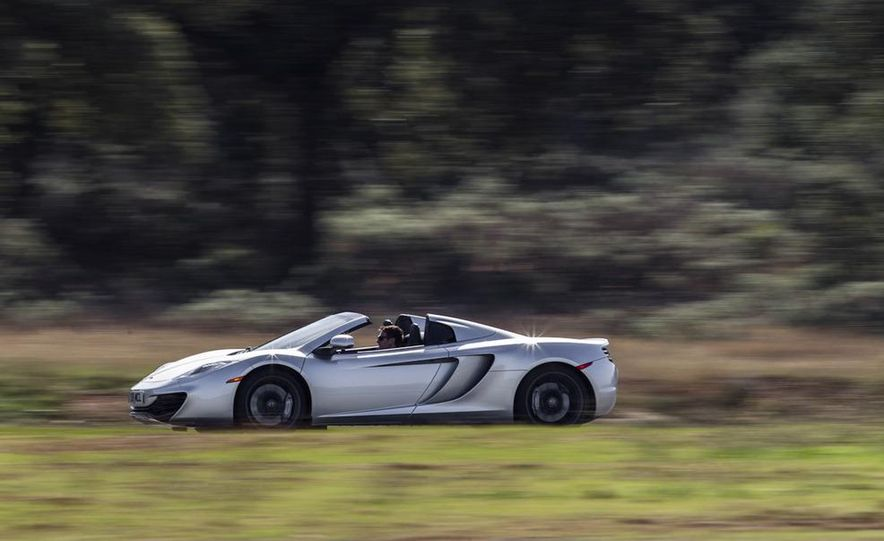 2013 McLaren MP4-12C Spider - Slide 148
