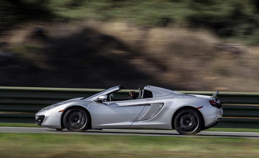2013 McLaren MP4-12C Spider - Slide 151