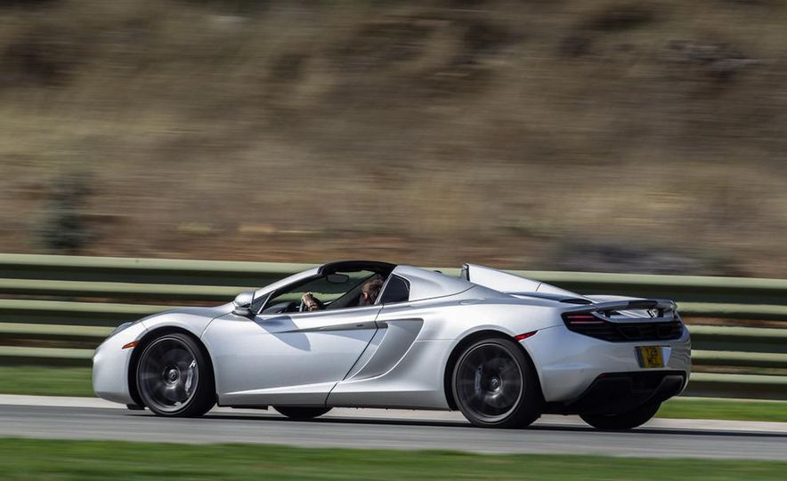 2013 McLaren MP4-12C Spider - Slide 152