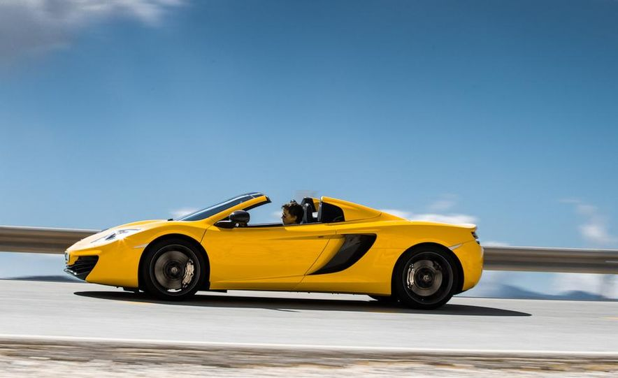 2013 McLaren MP4-12C Spider - Slide 157