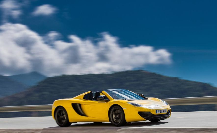 2013 McLaren MP4-12C Spider - Slide 158