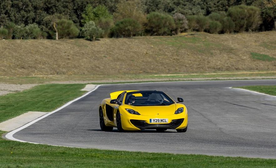 2013 McLaren MP4-12C Spider - Slide 166