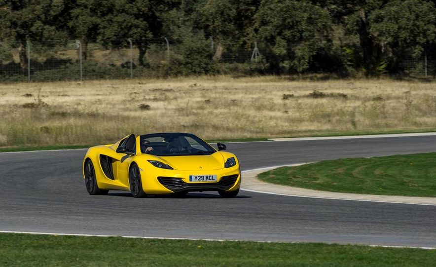 2013 McLaren MP4-12C Spider - Slide 170