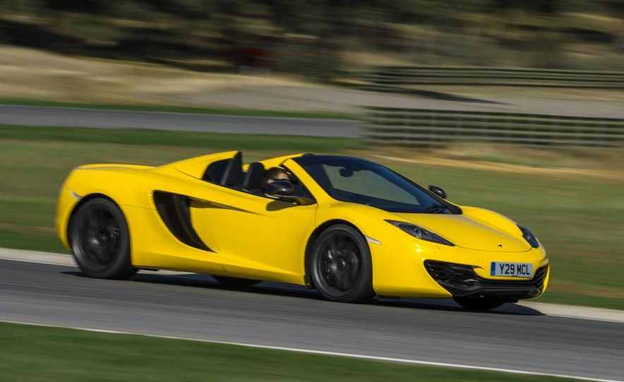 2013 McLaren MP4-12C Spider - Slide 173