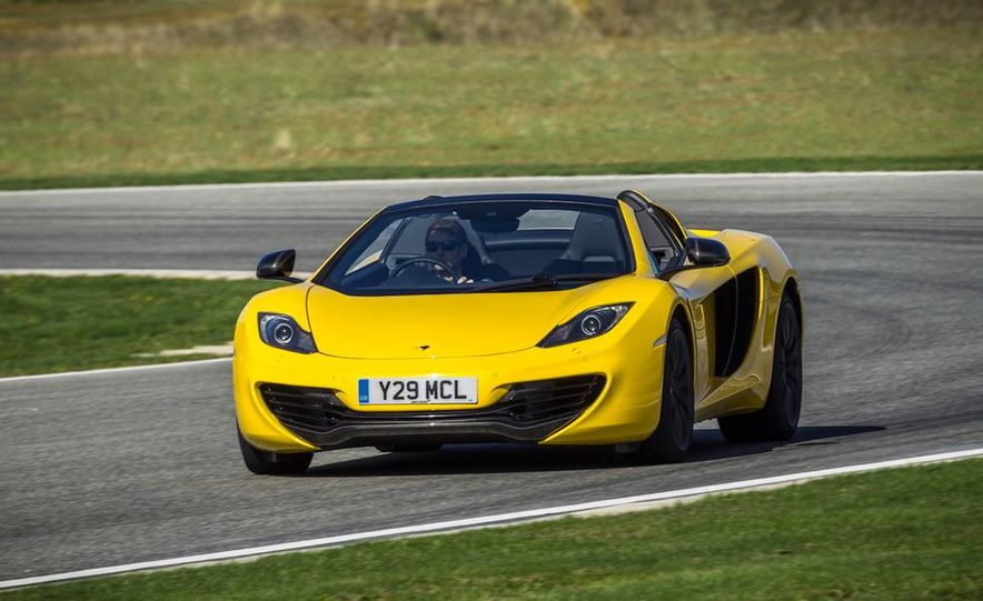 2013 McLaren MP4-12C Spider - Slide 175