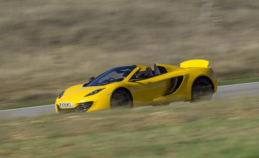 2013 McLaren MP4-12C Spider - Slide 178