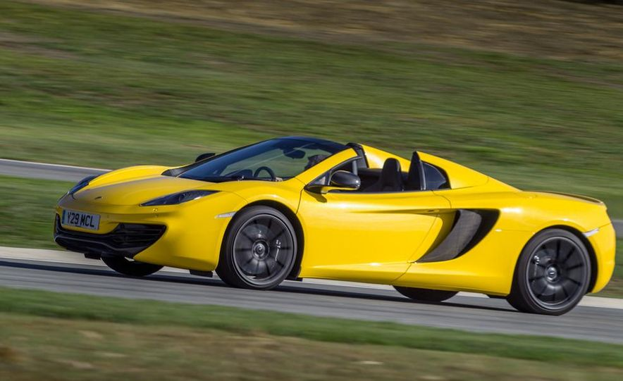 2013 McLaren MP4-12C Spider - Slide 180