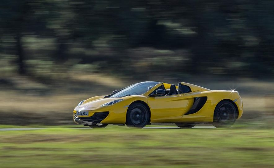 2013 McLaren MP4-12C Spider - Slide 183