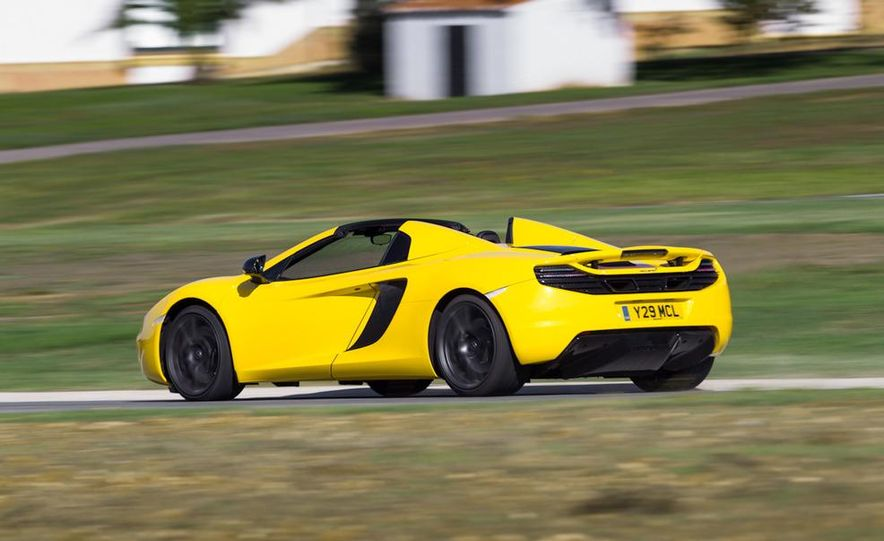 2013 McLaren MP4-12C Spider - Slide 190