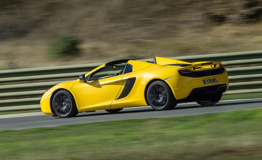 2013 McLaren MP4-12C Spider - Slide 191