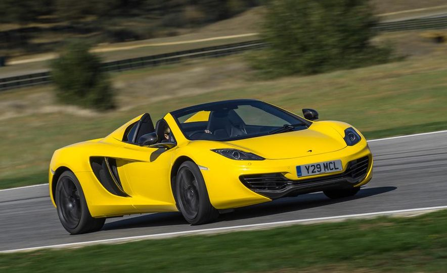 2013 McLaren MP4-12C Spider - Slide 200