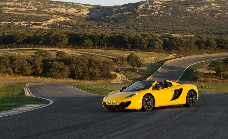 2013 McLaren MP4-12C Spider - Slide 204