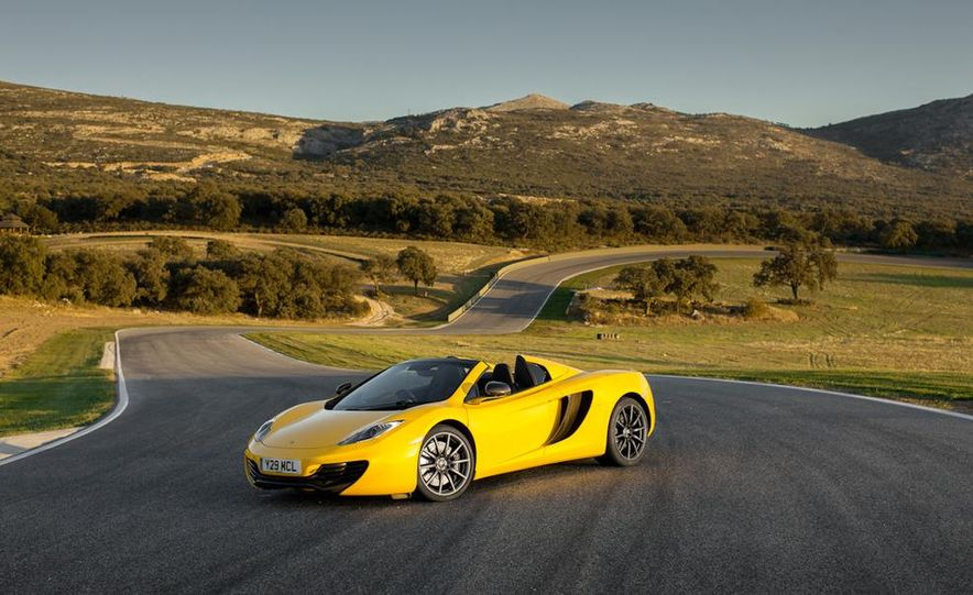 2013 McLaren MP4-12C Spider - Slide 209