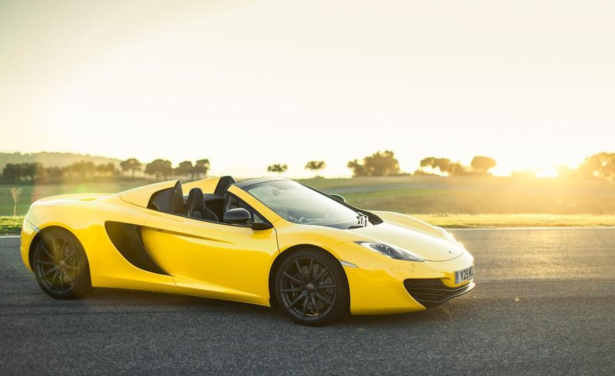 2013 McLaren MP4-12C Spider - Slide 210