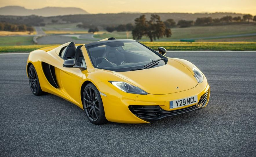 2013 McLaren MP4-12C Spider - Slide 213