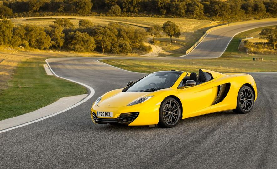 2013 McLaren MP4-12C Spider - Slide 214