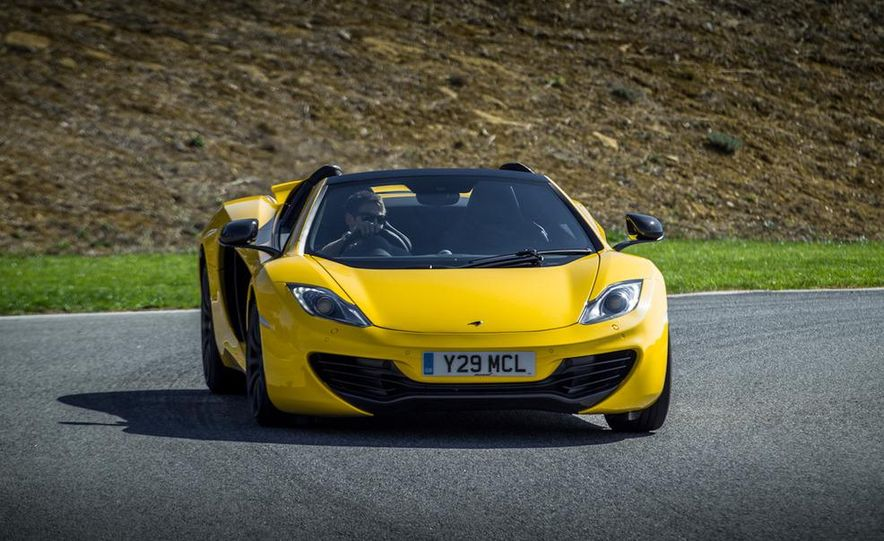 2013 McLaren MP4-12C Spider - Slide 216