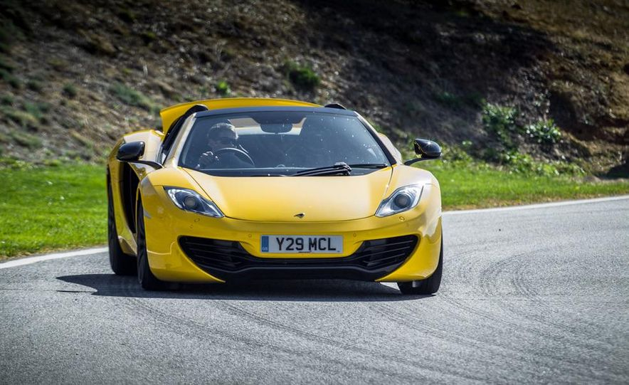 2013 McLaren MP4-12C Spider - Slide 217