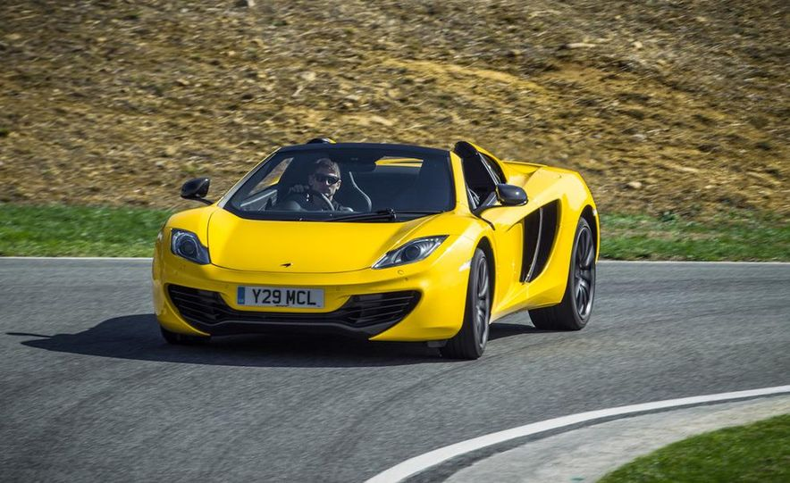 2013 McLaren MP4-12C Spider - Slide 218