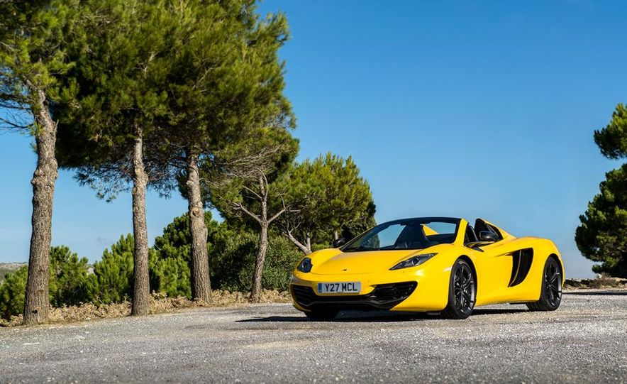 2013 McLaren MP4-12C Spider - Slide 220