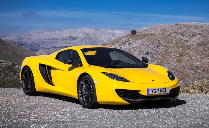2013 McLaren MP4-12C Spider - Slide 224