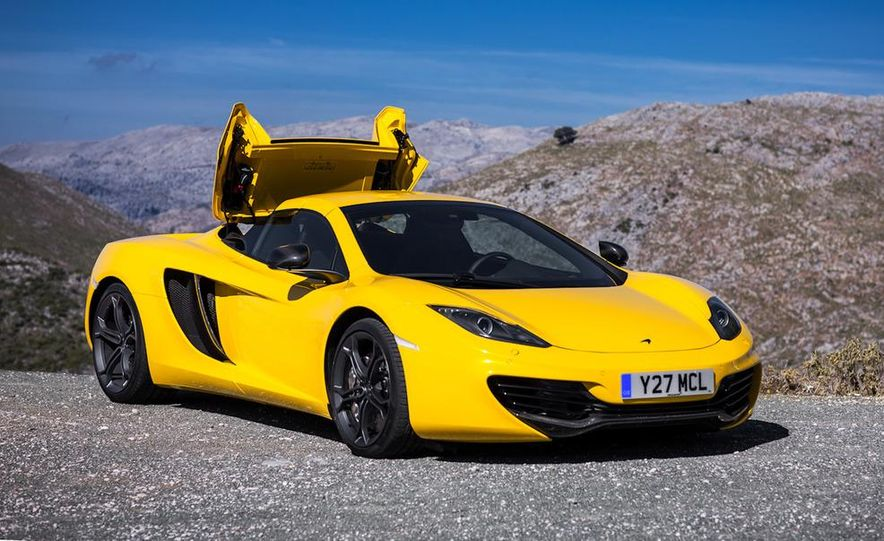 2013 McLaren MP4-12C Spider - Slide 225