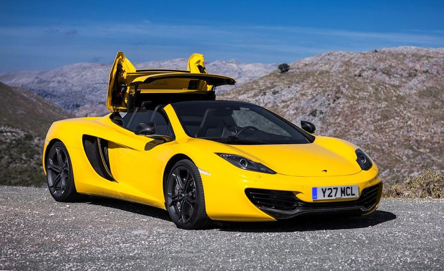 2013 McLaren MP4-12C Spider - Slide 226