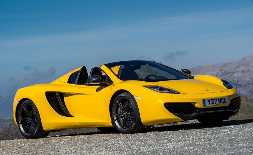 2013 McLaren MP4-12C Spider - Slide 234