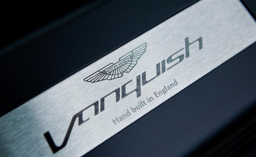 2013 Aston Martin Vanquishes - Slide 56