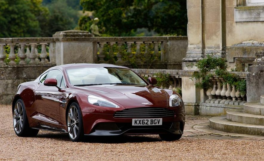 2013 Aston Martin Vanquishes - Slide 59
