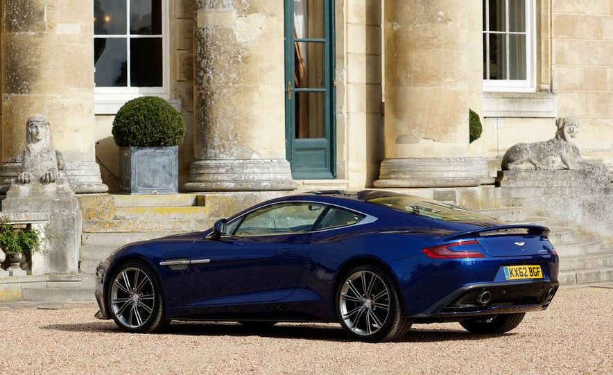 2013 Aston Martin Vanquishes - Slide 127