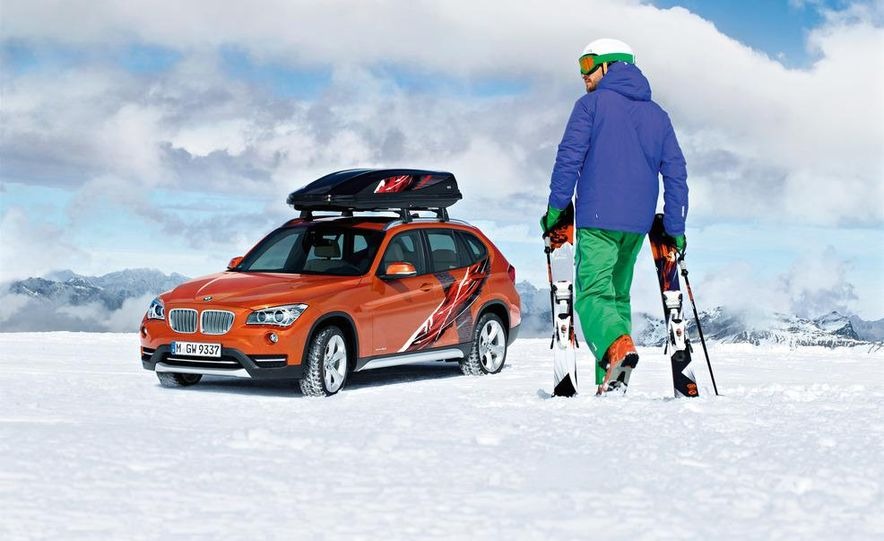 2013 BMW X1 Concept K2 Powder Ride - Slide 1