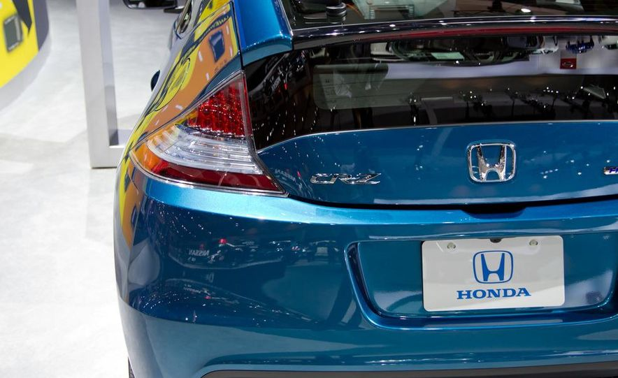 2013 Honda CR-Z - Slide 10