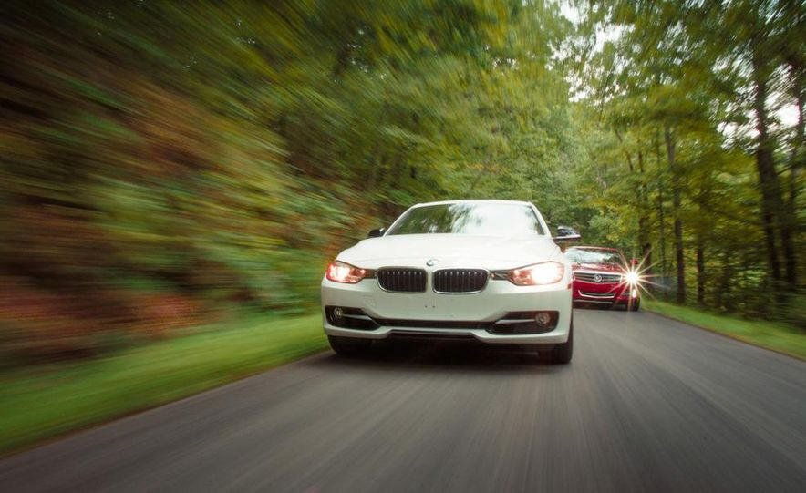 2013 Cadillac ATS 2.0T and 2012 BMW 328i sedan - Slide 14