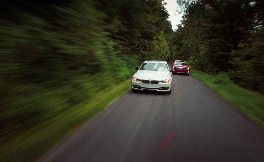 2013 Cadillac ATS 2.0T and 2012 BMW 328i sedan - Slide 15