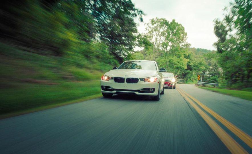 2013 Cadillac ATS 2.0T and 2012 BMW 328i sedan - Slide 18