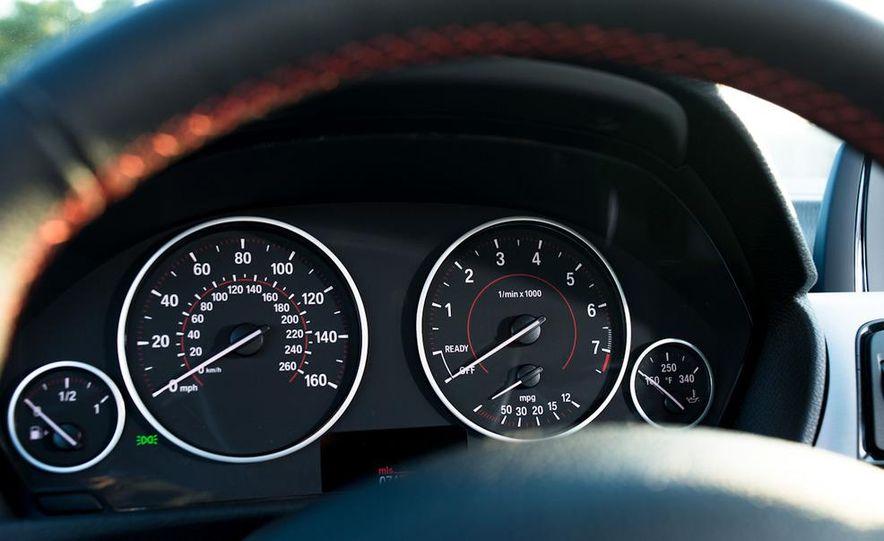 2013 Cadillac ATS 2.0T and 2012 BMW 328i sedan - Slide 47