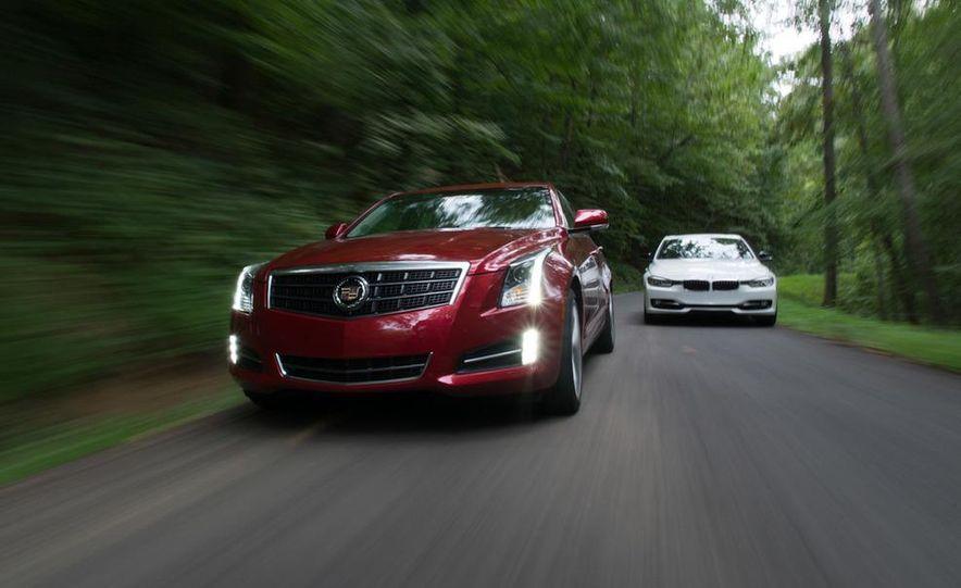 2013 Cadillac ATS 2.0T and 2012 BMW 328i sedan - Slide 2