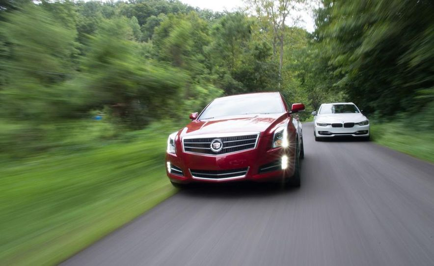 2013 Cadillac ATS 2.0T and 2012 BMW 328i sedan - Slide 3