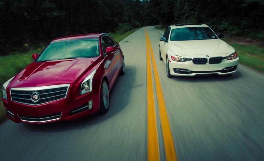 2013 Cadillac ATS 2.0T and 2012 BMW 328i sedan - Slide 6