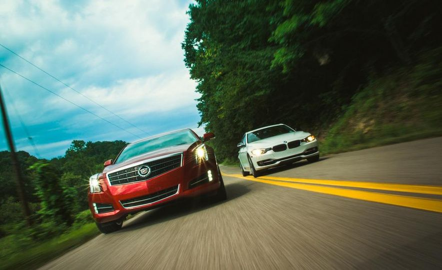 2013 Cadillac ATS 2.0T and 2012 BMW 328i sedan - Slide 7
