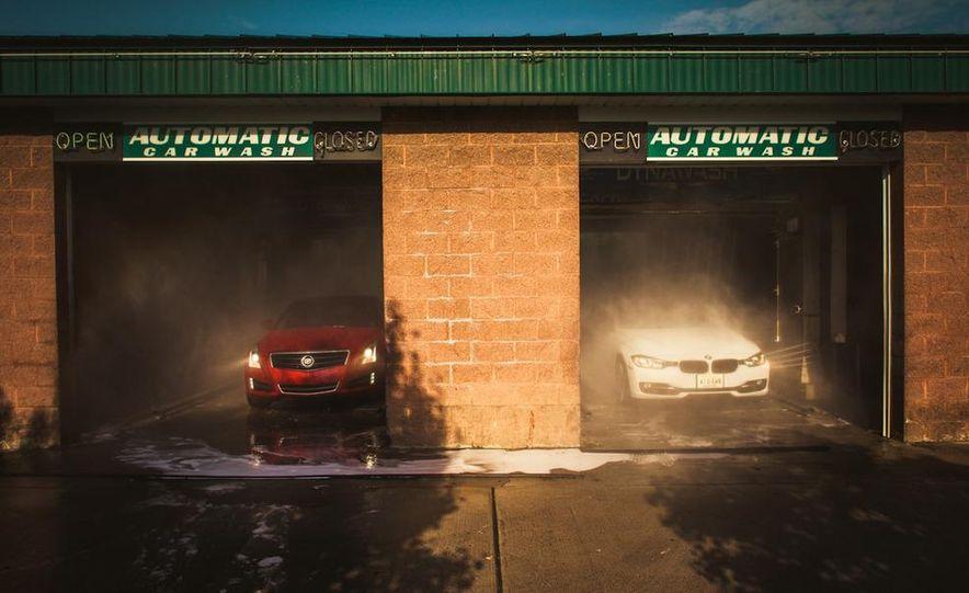 2013 Cadillac ATS 2.0T and 2012 BMW 328i sedan - Slide 9