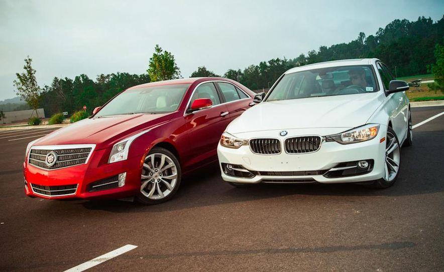 2013 Cadillac ATS 2.0T and 2012 BMW 328i sedan - Slide 10